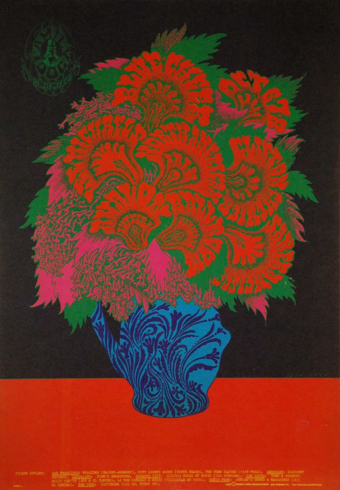 Blue Cheer, Clifton Chenier, Lee Michaels [Bands]. Victor Moscoso, b.1936 Amer.