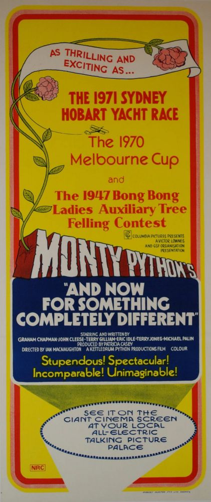 "Monty Python's ""And Now For Something Completely Different"" [Movie]"
