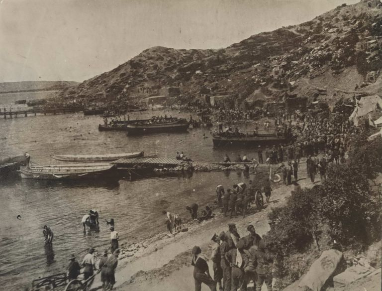 The Tip Of Gallipoli Peninsula Just Before Abandonment By Allies [ANZAC Troops]