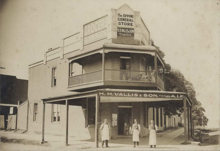 The Epping General Store, H.H. Vallis & Son
