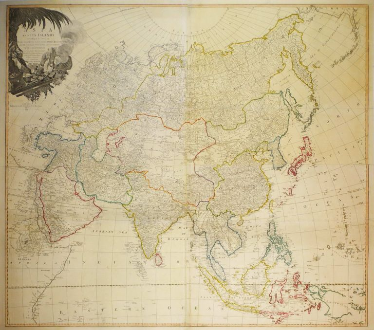 Asia And Its Islands According To D'Anville; Divided Into Empires, Kingdoms, States, Regions Etc [Map]