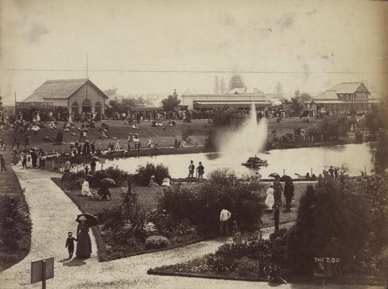 The Zoo [Moore Park, Sydney]. Charles Bayliss, 1850–1897 Aust.