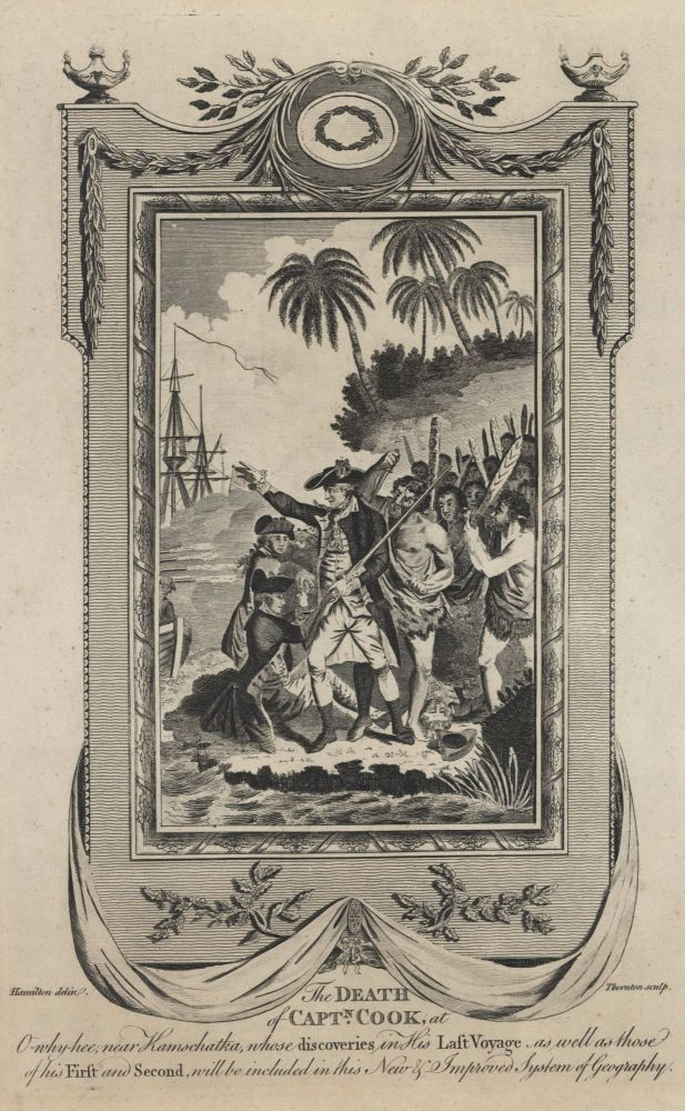The Death Of Capt'n Cook At O-Why-Hee Near Kamschatka. After William Hamilton, 1751–1801 British.
