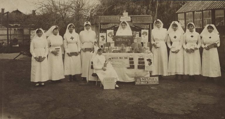 [WWI Red Cross Voluntary Aid Detachment Fundraising In Adelaide, SA]