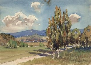 Canberra. Norman Speer, active Aust.
