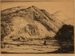 The Bare Hills, Queenstown, Tasmania]. Edward Warner, Aust