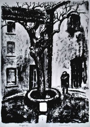 Tree And Figure In The Square]. Noel Counihan, Aust