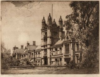 Sydney University. Thomas Friedensen, British/ Aust