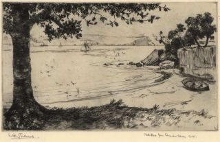 North Head From Edwards Beach [Balmoral]. A. H. Fullwood, Aust