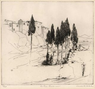 The Pines, Ronda [Spain]. Harold B. Herbert, Aust