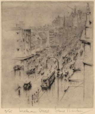 William Street [Sydney]. David Barker, Aust