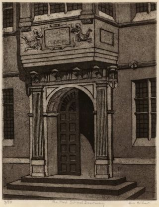 The Med School Doorway [University of Sydney]. Bim Hilder, Aust.