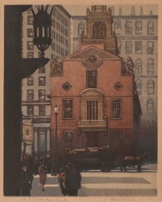 The Old State House, Boston. Louis Novak, Amer