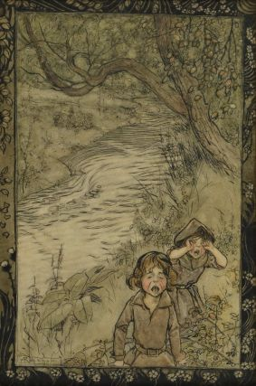 The Babes In The Wood. Arthur Rackham, British.