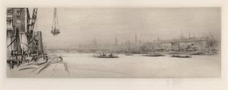 The Thames]. William Walcot, Brit