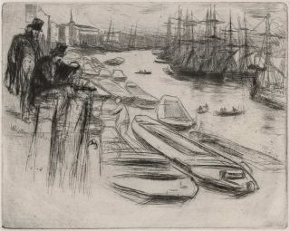 The Little Pool. James McNeill Whistler, Amer./Brit