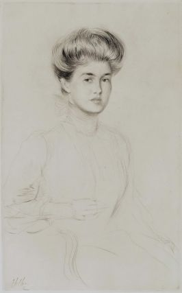 Portrait Of A Woman]. Paul Helleu, French