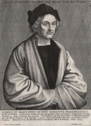 Albrecht Dürer The Elder. Wenceslaus Hollar, Czech/Brit