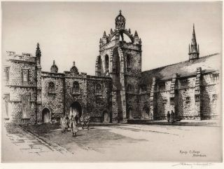 King's College, Aberdeen. Albany E. Howarth, Brit