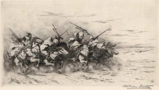 The Desert Charge]. William Ashton, Brit