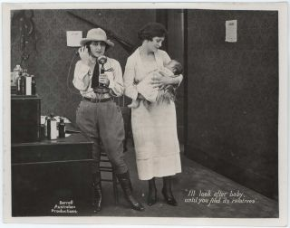 "Publicity Stills From ""A Girl Of The Bush"""