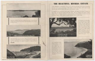The Beautiful Riviera Estate [Proposed Development Of West Head Area, Ku-Ring-Gai Chase, Sydney]