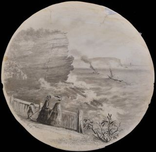 View From The Gap, South Head [NSW]. Edward Turner, Brit./Aust