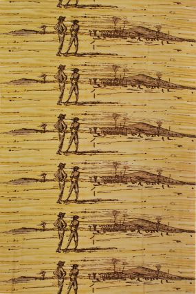 Figures In Landscape. After Russell Drysdale, Aust