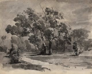 Rural Landscape]. Louis Buvelot, Swiss/Australian