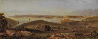 View Of Sydney From The North Shore]. After Edward B. Boulton, Aust