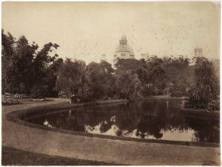 Garden Palace, Sydney, Before And After Its Destruction By Fire