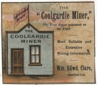 Gold Mining And Architecture, Coolgardie, Western Australia
