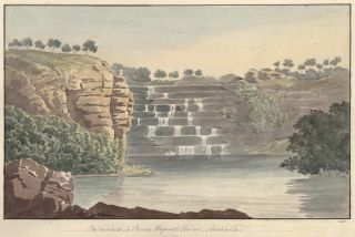 The Cascade In Prince Regent River, Australia [The Kimberley, WA]. Charles Hamilton Smith, Brit., After Phillip Parker King, Aust.