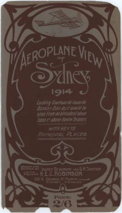 Aeroplane View Of Sydney. After Sidney Beaumont, D H. Souter, Aust