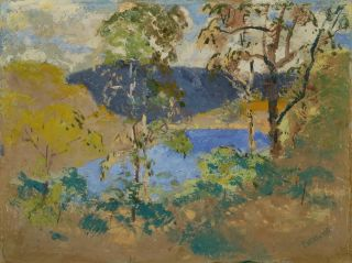 Mt Nebo No. 1 [Queensland]. Miles Evergood, Australian.