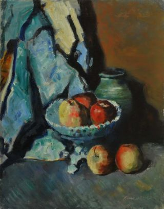 Red Apples. Miles Evergood, Australian
