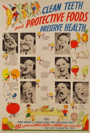 Clean Teeth And Protective Foods Preserve Health