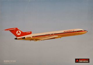 Boeing 727-200. Ansett. Airlines Of Australia