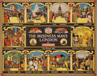 The Business Man's London, By Underground. R T. Cooper, British