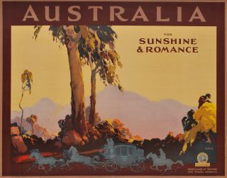 Australia, For Sunshine And Romance. James Northfield, Aust