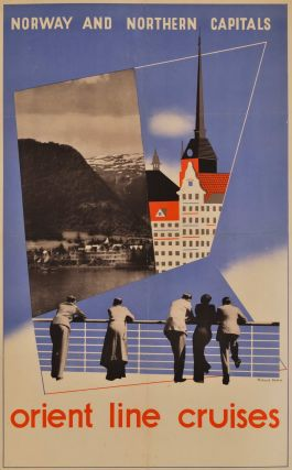 Norway And Northern Capitals. Orient Line Cruises. Richard Beck, Aust