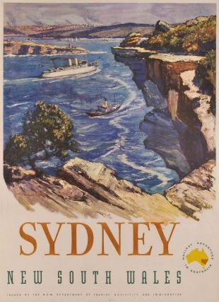 Sydney. New South Wales [From North Head]. Richard Ashton, Aust