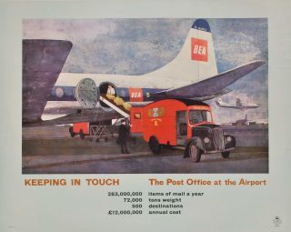 Keeping In Touch. The Post Office At The Airport [Royal Mail, Great Britain
