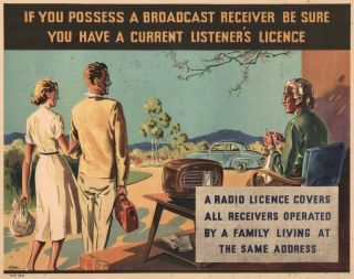 If You Possess A Broadcast Receiver Be Sure You Have A Current Listener's Licence