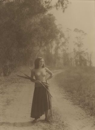 A Romany Maid. William Mortensen, American