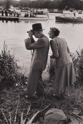 Spectators: Royal Henley. David Potts, Australian.