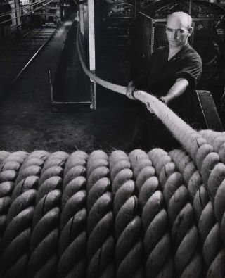 Rope Making, Miller Rope, Melbourne, Australia. Wolfgang Sievers, German/Aust