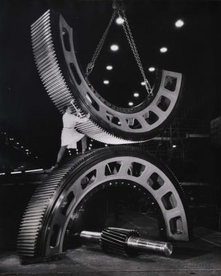 Gears For The Mining Industry, Vickers-Ruwolt, Burnley, Melbourne. Wolfgang Sievers, German/Aust