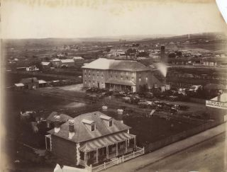 [George Street, Bathurst]. Attrib. Charles Bayliss, Aust.