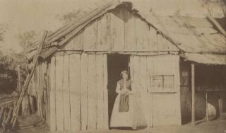 [Main Street, Home Rule, NSW] and [Woman Standing In Doorway, Gulgong, NSW]